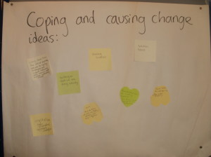 Coping and causing change