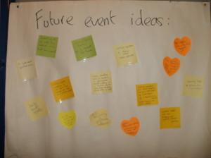 Future event ideas
