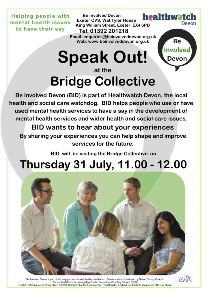 Bridge visits poster July 14